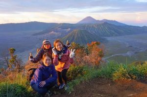 Midnight tour to Mount Bromo