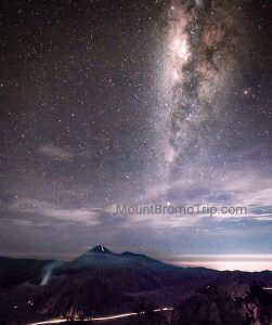 Bromo Milky Way by Camping and Ijen Blue Flame Tour 3 Days
