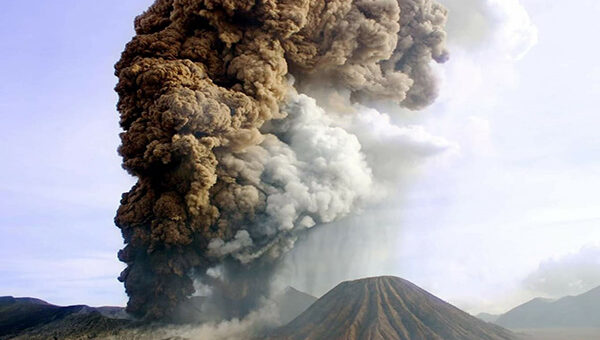 History of Mount Bromo Eruption